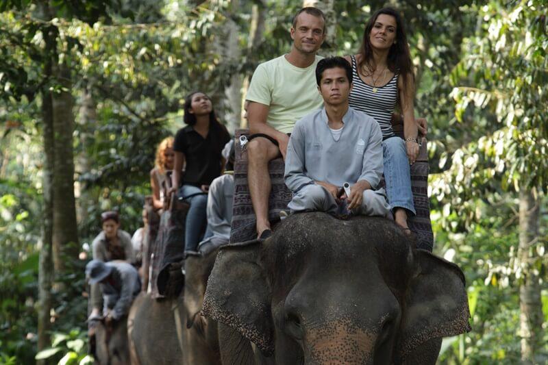 エレファントサファリライド(象乗り)+ウブド観光のコラボツアー
