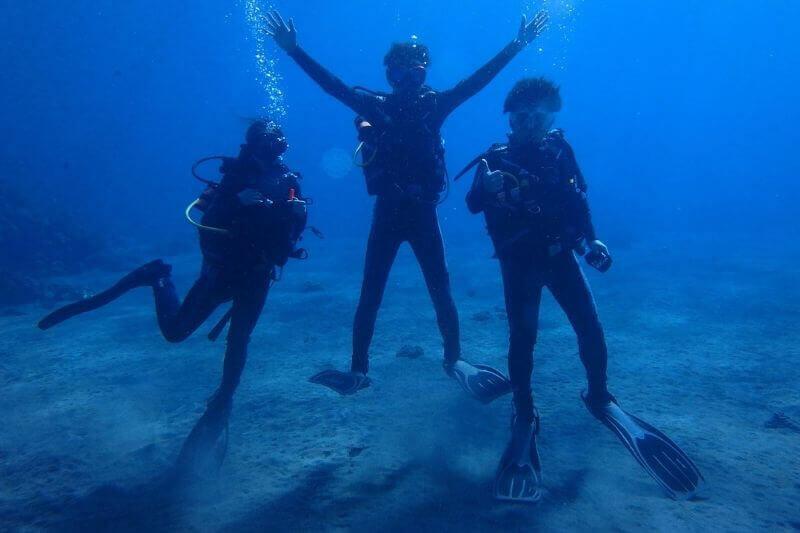 バリ島からヌサペニダ島まで!選べる体験ダイビング+シュノーケリングツアー